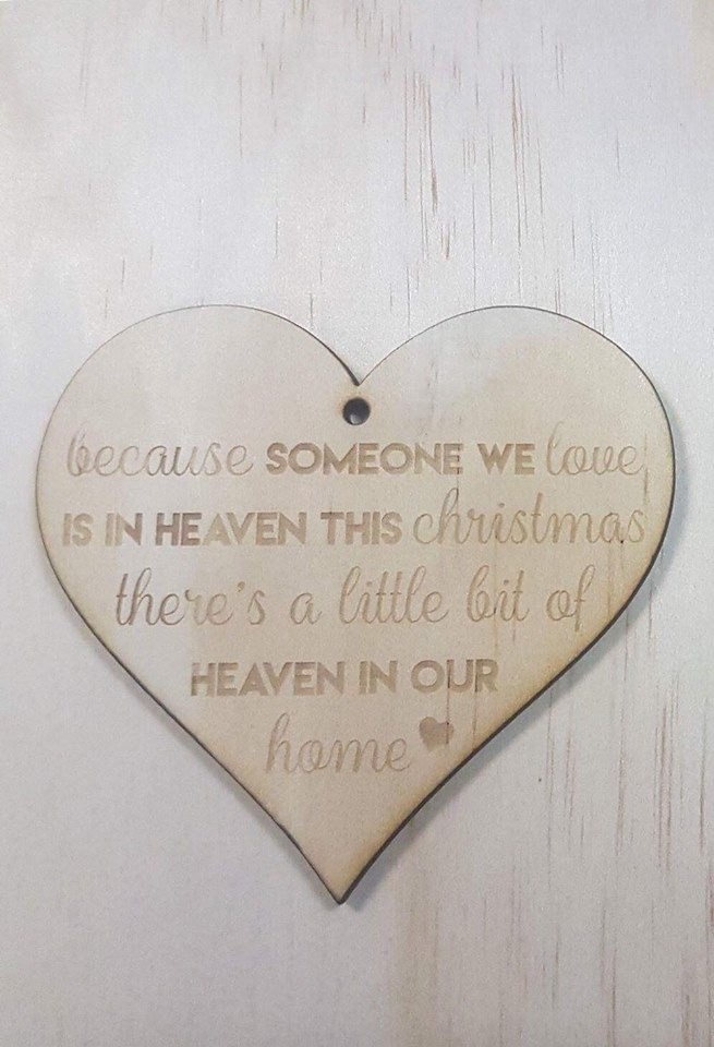 Christmas in Heaven | Christmas Bauble {Someone We Love}