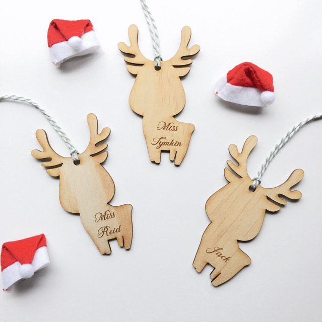 Reindeer Ornament | Christmas {Teachers Gift}