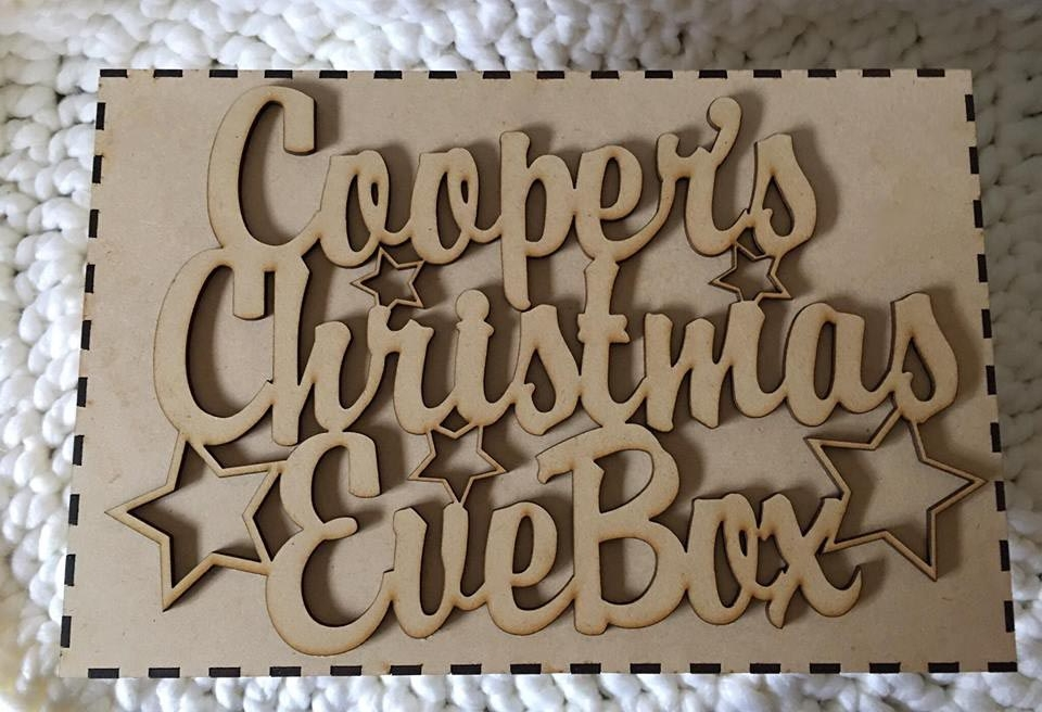 Personalised | Christmas Eve Box Topper