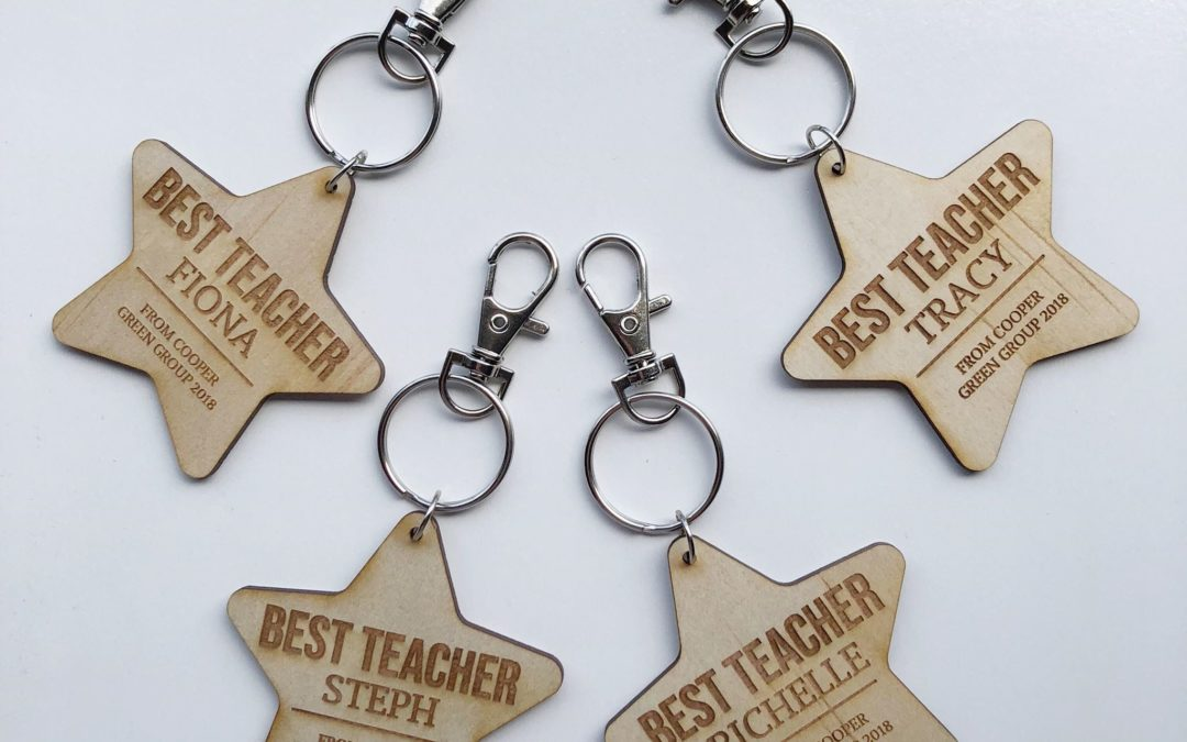 Personalised BEST TEACHER | Bag Tag | Key Ring