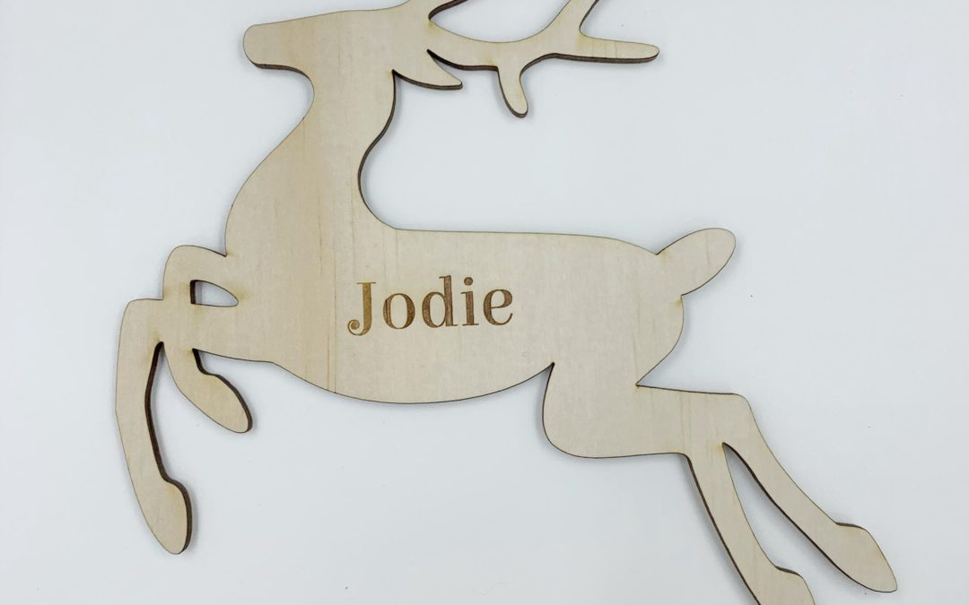 Reindeer Ornament | Christmas | Name Place