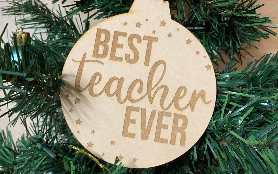 Best Teacher Ever | Christmas Bauble