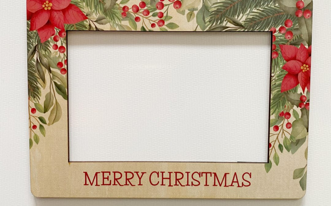 Wooden | Christmas Photo Frame